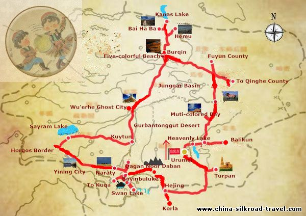 13 Days Northern Xinjiang Tour