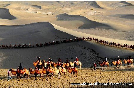 Model The Term Silk Road, Though Coined In The 19th Century By A German Explorer, Evokes A Romantic Era When Caravans Of Camels, Horses And Mules Transported Everything From Jade And Gunpowder To Rhubarb And, Of Course, Silk Between