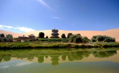 Silk road travel to Dunhuang